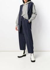 See by Chloé pinstripe longline waistcoat