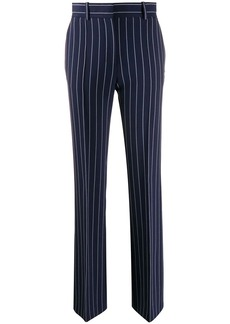 See by Chloé pinstripe straight-leg trousers