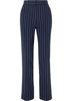 See by Chloé Pinstriped Woven Straight-leg Pants