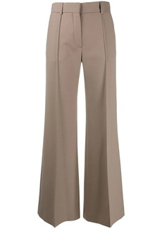 See by Chloé plain flared trousers