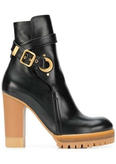 See by Chloé platform ankle boots