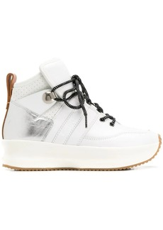 See by Chloé platform lace-up sneakers
