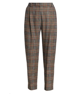 See by Chloé Pleated Houndstooth Trousers
