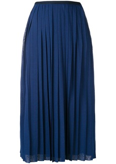 See by Chloé pleated mid-length skirt