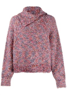 See by Chloé pointed collar jumper