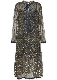 See by Chloé polka-dot midi dress