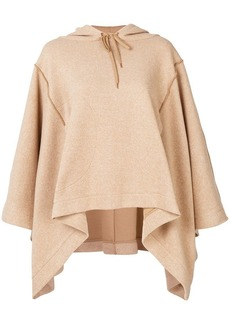 See by Chloé poncho style hoodie