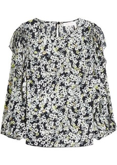 See by Chloé Printed Blouse with Silk