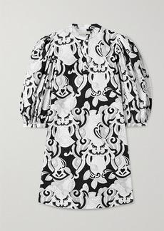See by Chloé Printed Cotton-poplin Mini Dress