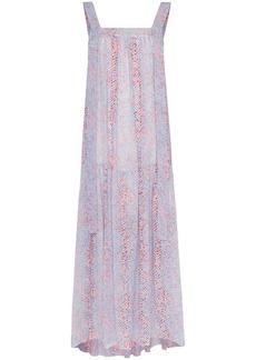 See by Chloé printed maxi dress