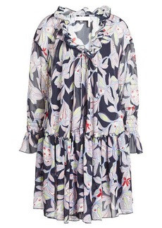 See by Chloé Printed Midi Dress