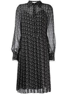 See by Chloé printed shirt dress