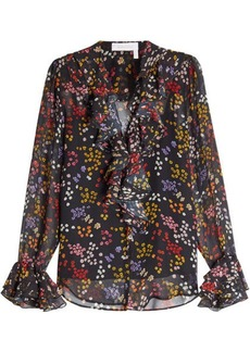 See by Chloé Printed Silk Chiffon Blouse