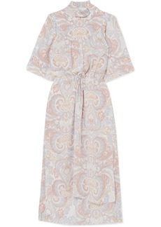 See by Chloé Printed Silk-georgette Midi Dress