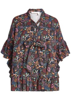 See by Chloé Printed Smock Top