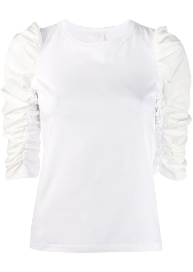 See by Chloé puff shoulder sweatshirt