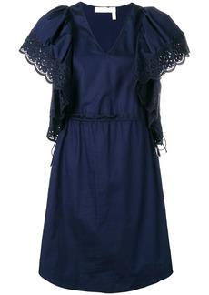 See by Chloé puffed sleeve dress