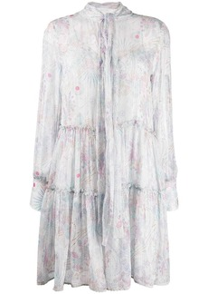 See by Chloé pussy bow ruffle dress