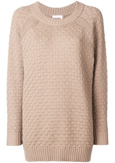 See by Chloé rear button-down sweater