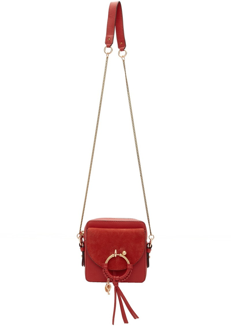 See by Chloé Red Joan Camera Bag