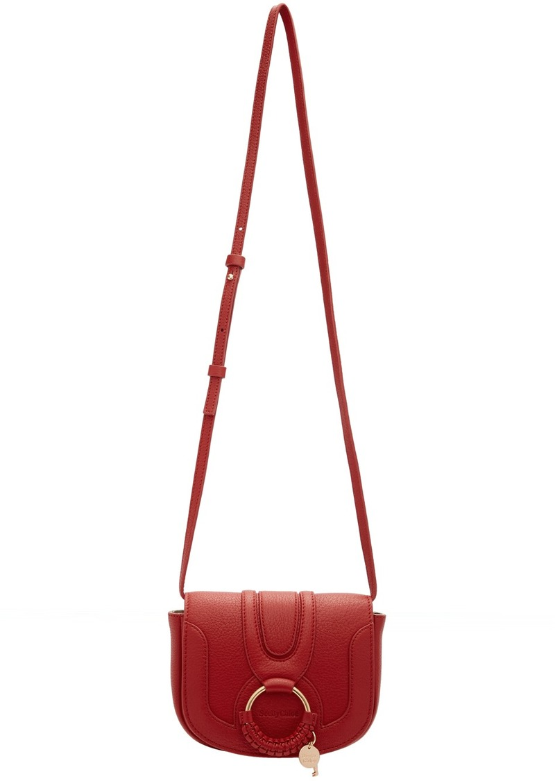 See by Chloé Red Mini Hana Bag