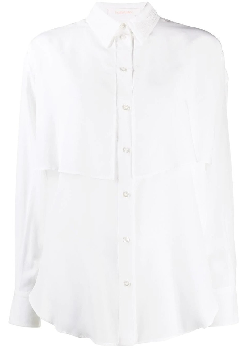 See by Chloé relaxed-fit long-sleeved shirt