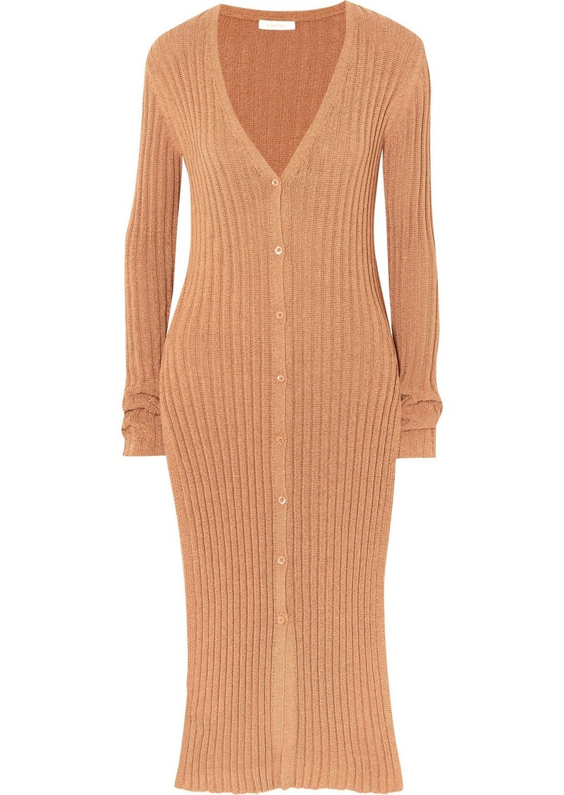 See by Chloé Ribbed-knit Cardigan