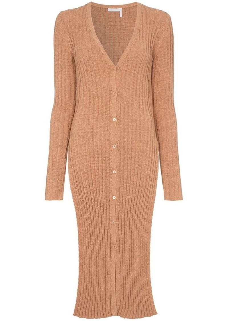 See by Chloé Ribbed knit cardigan
