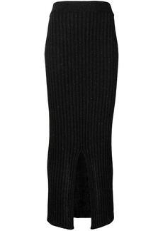 See by Chloé ribbed knit skirt