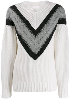 See by Chloé ribbed knitted jumper