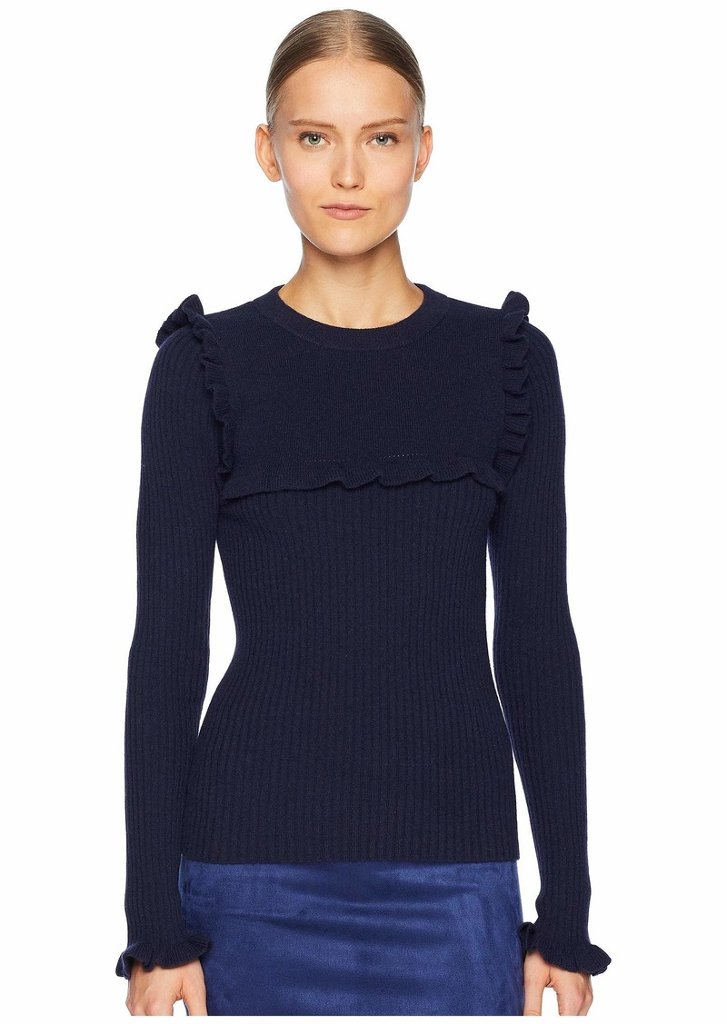 See by Chloé Ribbed Long Sleeve Sweater