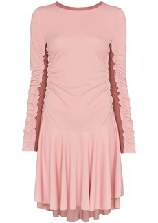 See by Chloé ribbed panel mini dress