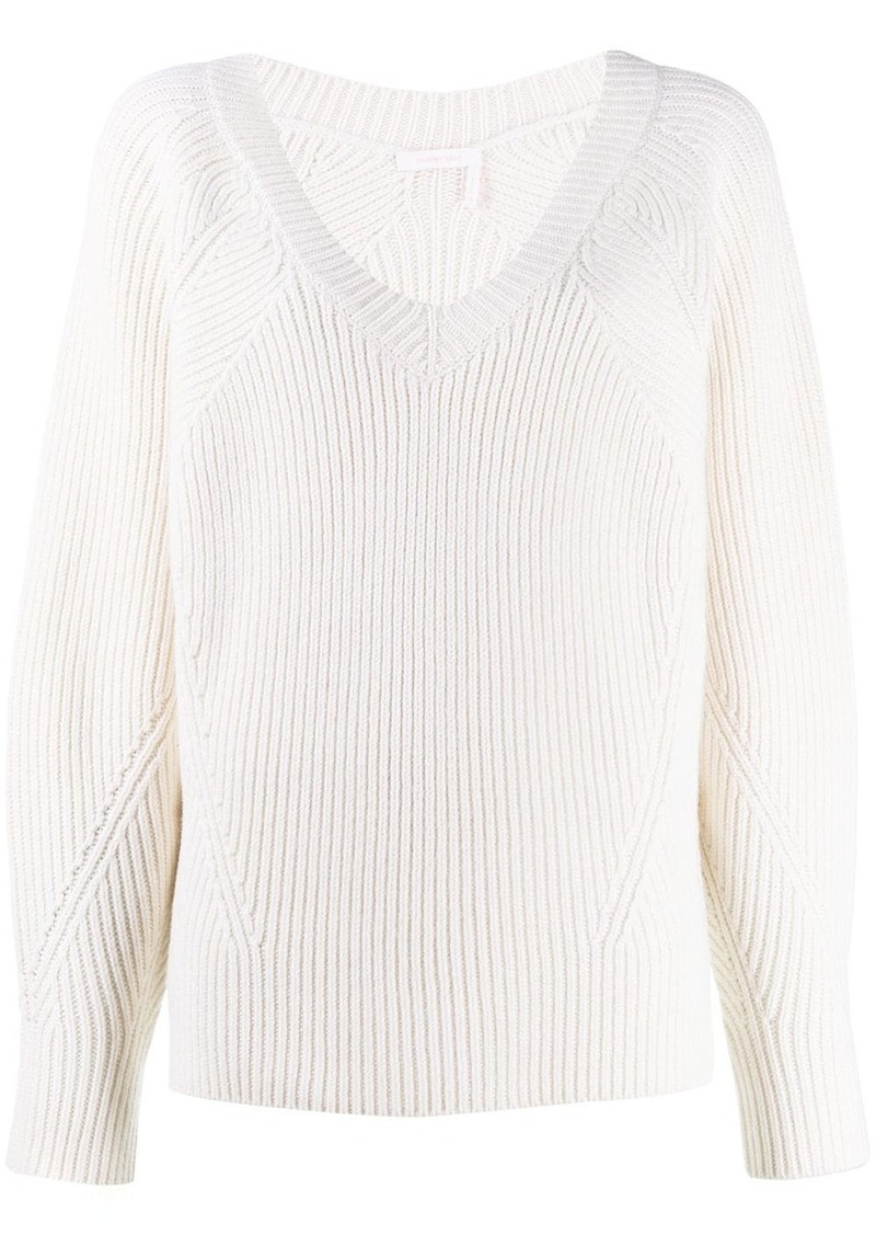 See by Chloé ribbed sweater