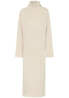 See by Chloé Ribbed wool-blend sweater dress