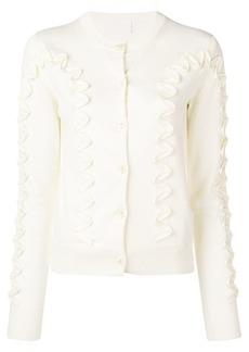 See by Chloé ribbon trim cardigan