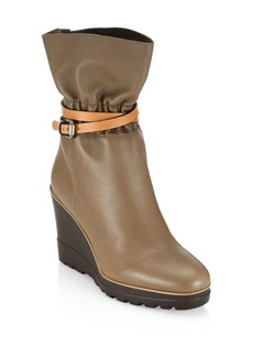 See by Chloé Robin Leather Wedge Boot