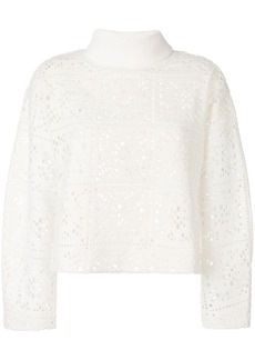 See by Chloé roll neck knitted top