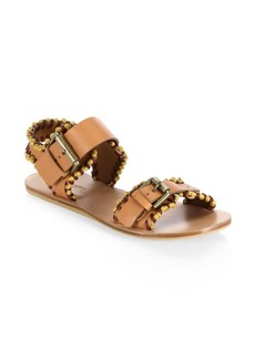 See by Chloé Romy Whipstitch Flat Sandal