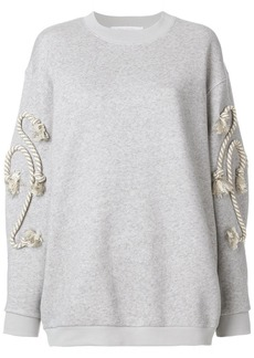 See by Chloé rope detail sweatshirt