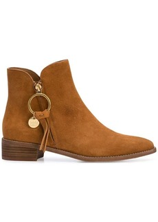 See by Chloé round toe boots