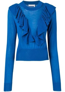 See by Chloé ruffle detail jumper