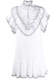 See by Chloé ruffle short-sleeve dress