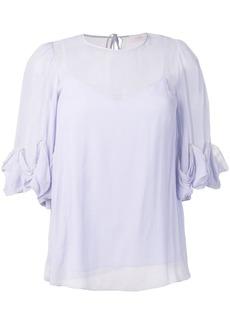 See by Chloé ruffle sleeve blouse