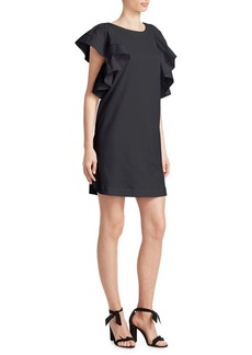 See by Chloé Ruffle T-Shirt Dress