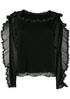 See by Chloé ruffle-trim blouse