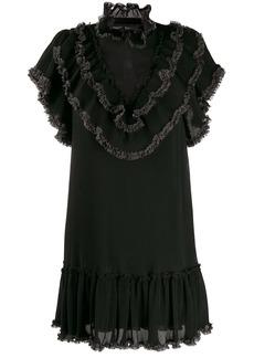 See by Chloé ruffle trim mini dress