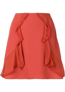 See by Chloé ruffle-trim skirt