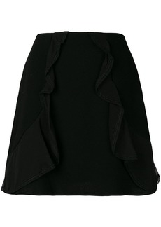 See by Chloé ruffle trim skirt