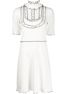 See by Chloé ruffled georgette dress