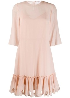 See by Chloé ruffled hem dress